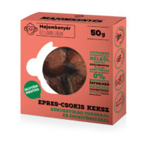 Majomkenyér Epres-Csokoládés keksz