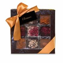 Eléonore Choco Box Csokoládé válogatás, Hozzáadott Cukormentes, Édesítőszerrel