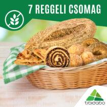 Tibidabo gluténmentes péktermékek 7 reggeli csomag