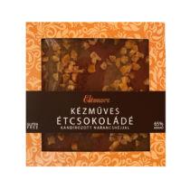 Eléonore  Kézműves Étcsokoládé Kandírozott Narancshéjjal