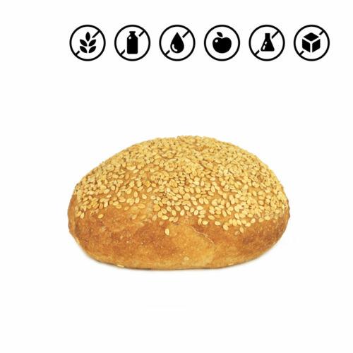 Gluténmentes hamburger zsömle 110g