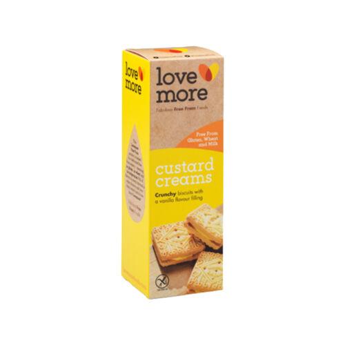 Love More Vaníliás krémmel töltött keksz